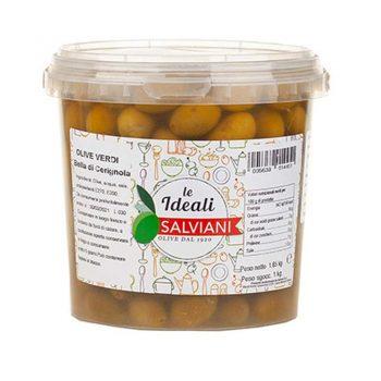 SALVIANI Маслини Bella di Cerignola – 1 кг
