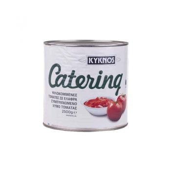 Chopped tomatoes in tomato juice Kyknos