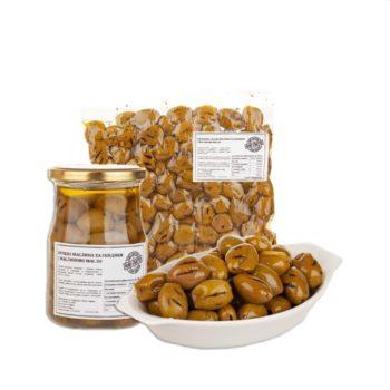 SIOURAS Зелена грилована маслина Халкидики 1 кг