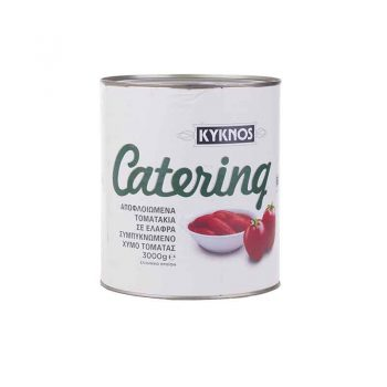 Peeled tomatoes in tomato juice Kyknos 2,5 kg
