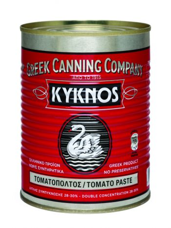 Tomato paste double concentration 28 – 30 % Kyknos