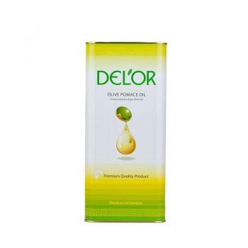 DEL'OR Pomace & Virgin Olive Oil 5 l