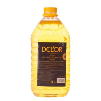 DEL'OR High-Oleic Cooking Oil 5 L