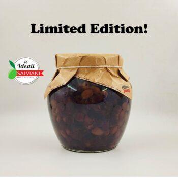 Маслини Leccino (Taggiasca) SALVIANI Limited Edition винтидж без костилка – 1,5 кг