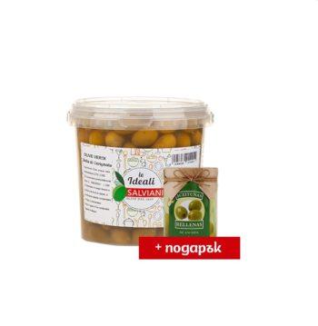 ПРОМО Bella di Cerignola 1 кг + Manzarella с аншоа 120 г ПОДАРЪК