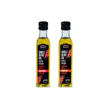 LATZIMAS Люто маслиново масло екстра върджин с люти чушки от Chilli Hills 250 мл