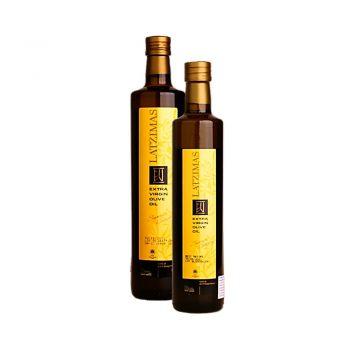 LATZIMAS Маслиново масло екстра върджин 500 мл и 750 мл бутилка