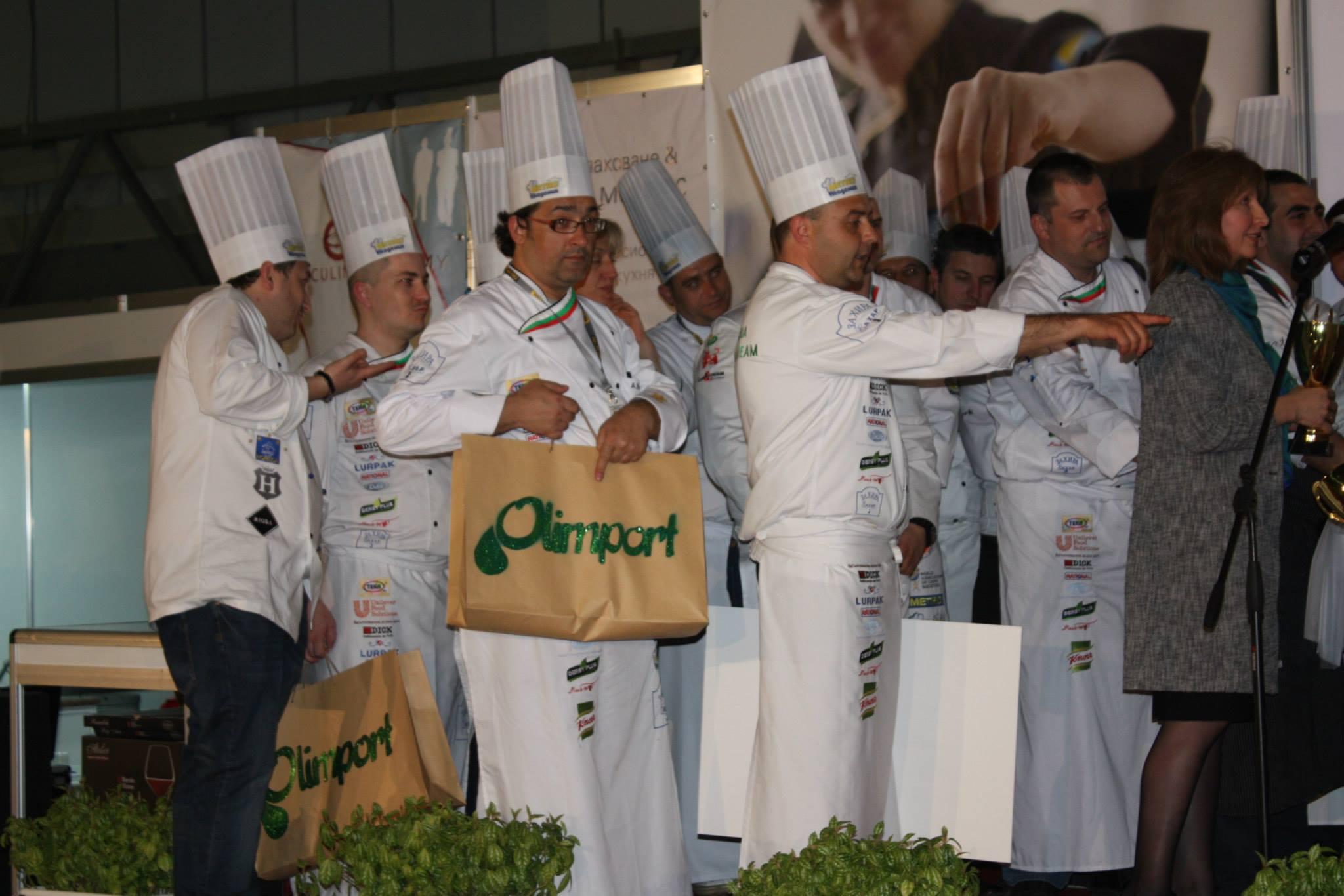 You are currently viewing Олимпорт представя нови продукти на Националната кулинарна купа на България 2016