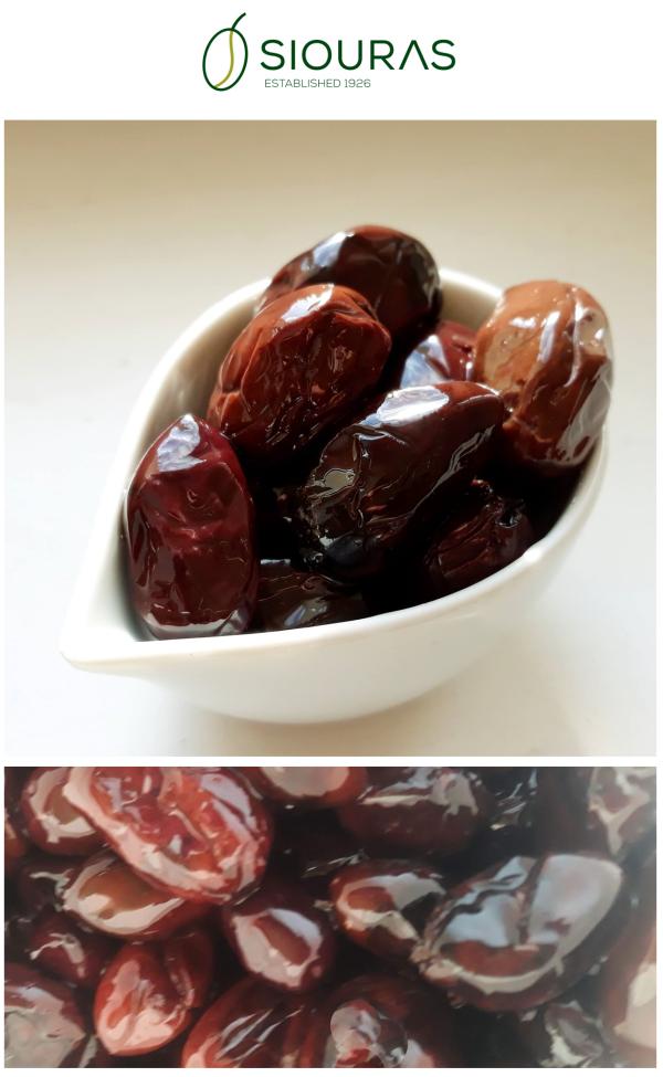 Read more about the article НОВО! Каламата печена на фурна от Siouras, в екстра върджин зехтин.