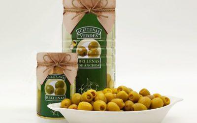 Андалусийката пристигна! Зелена испанска маслина манзанила с аншоа