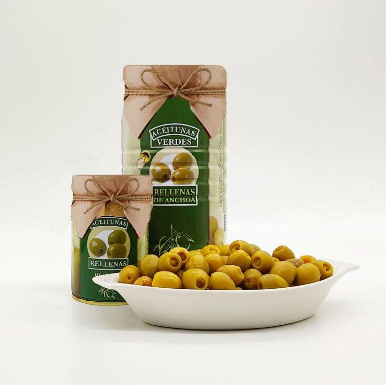 Read more about the article Андалусийката пристигна! Зелена испанска маслина манзанила с аншоа